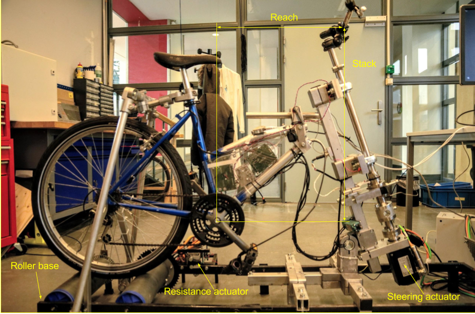 MS - Design and hardware selection for a bicycle simulator