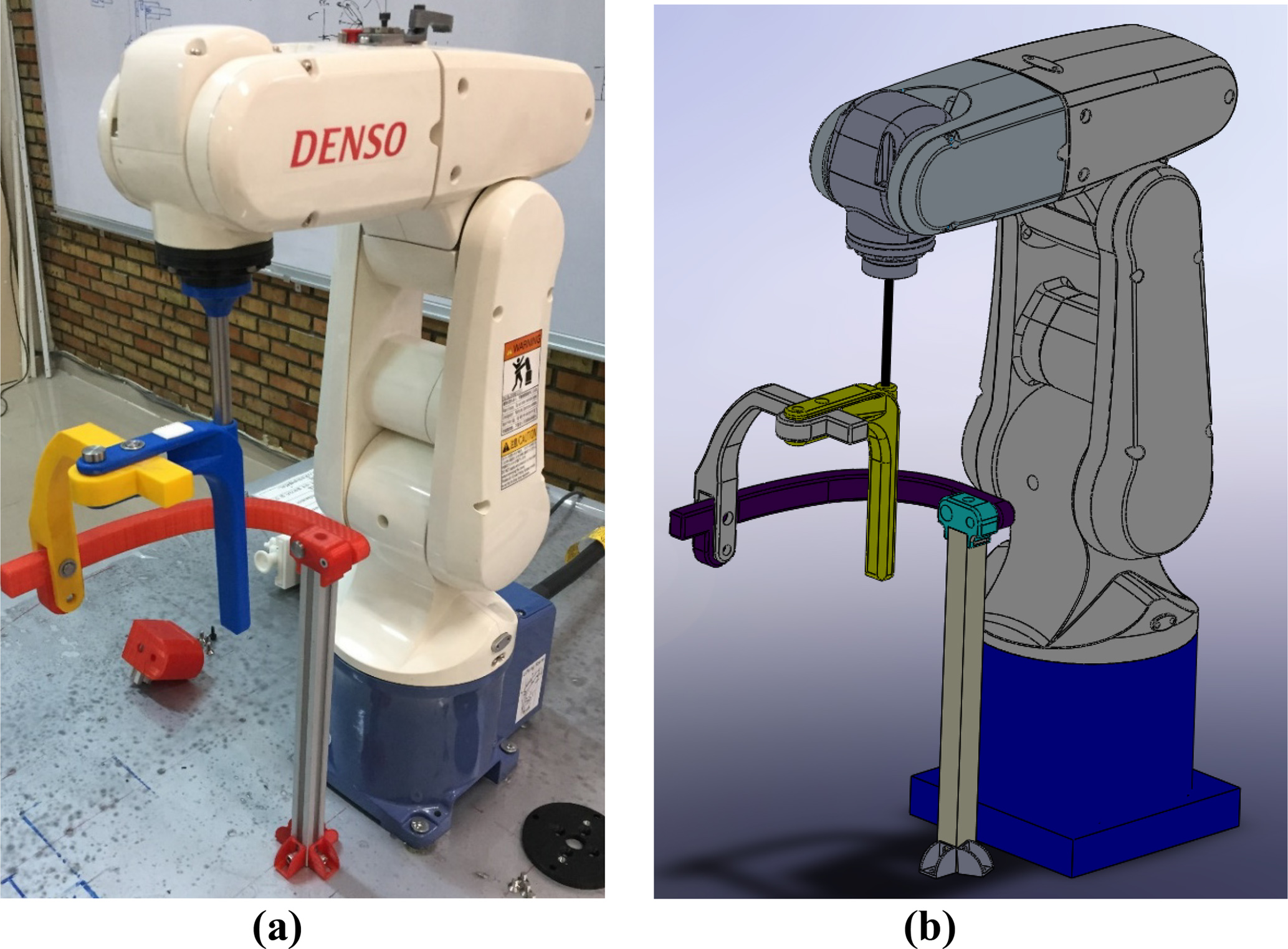MS - Design of a robot-assisted exoskeleton for passive