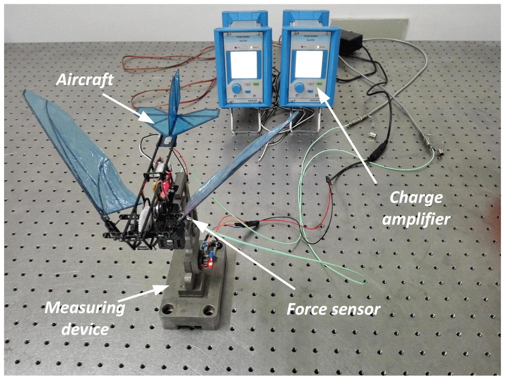 MS - Development of a novel flapping wing micro aerial