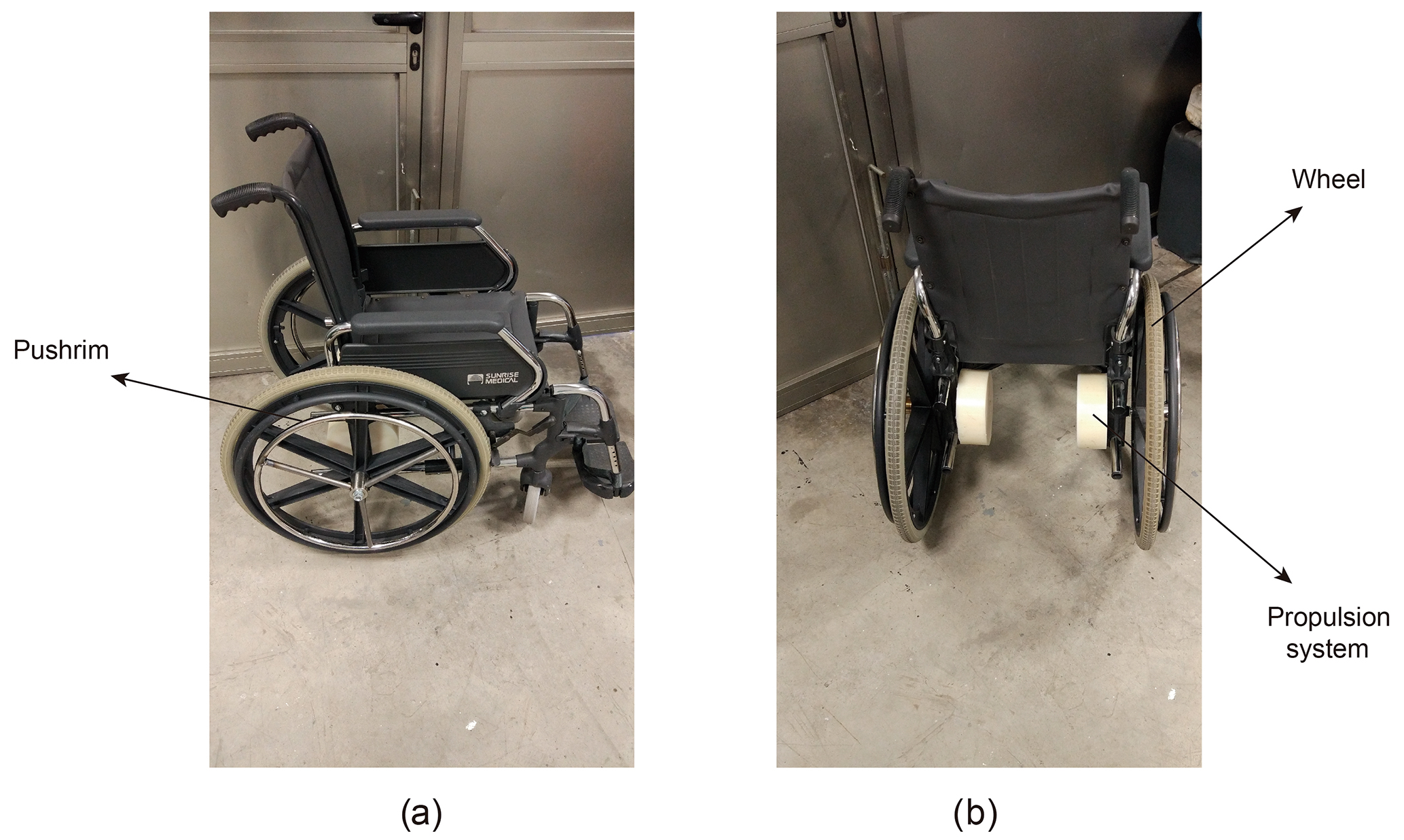 Ms A New Manual Wheelchair Propulsion System With Self Locking Capability On Ramps