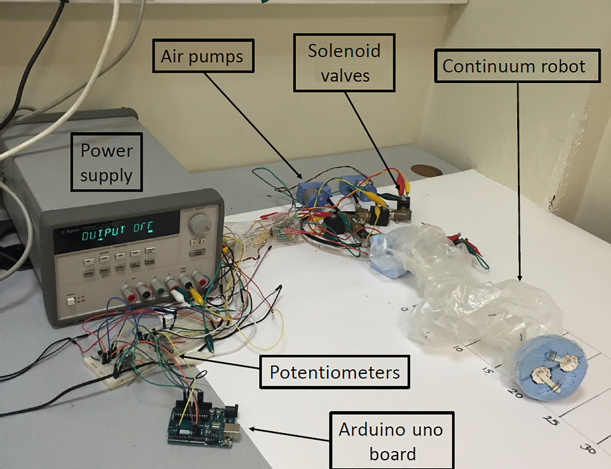 MS - Design and evaluation of a continuum robot with extendable balloons